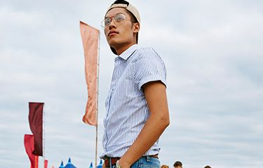 #ImWearingRI: Festival Lookbook ft.  Q Mike