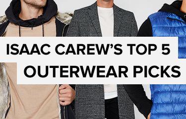 Isaac Carew's top 5 outerwear picks