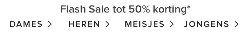 TOT 50% KORTING