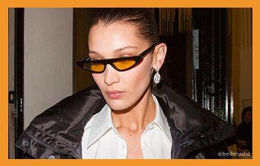 The return of skinny sunglasses