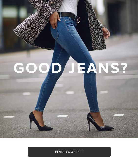 Womens Denim Fit Guide