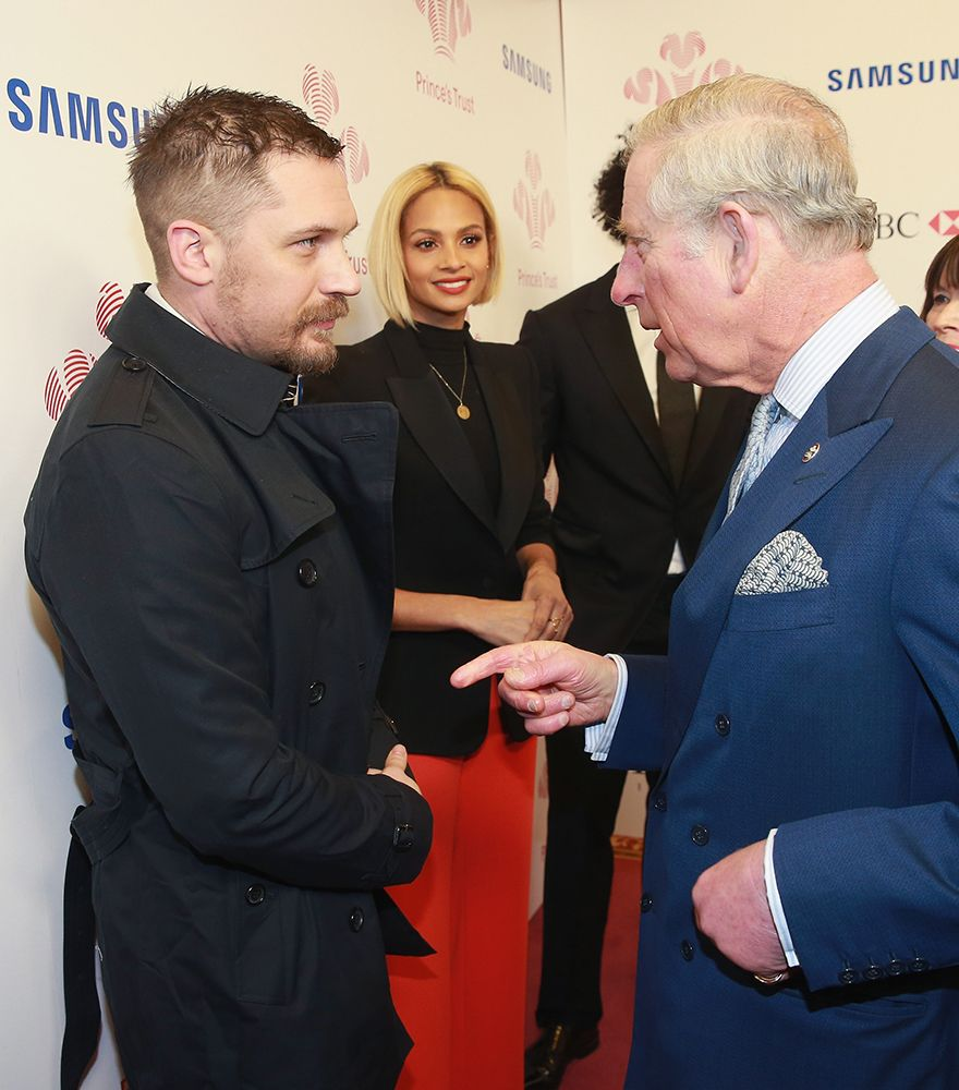 TOM HARDY ambassador for the Prince's Trust