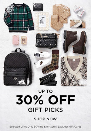 Up to 40% off gifts