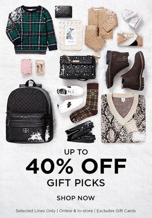 Up To 40% Off gifting