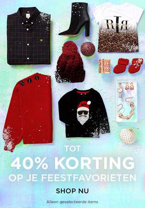 Tot 40% korting op cadeaus