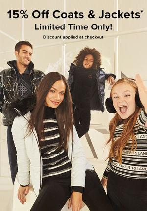 15 % Rabatt auf Mäntel und Jacken