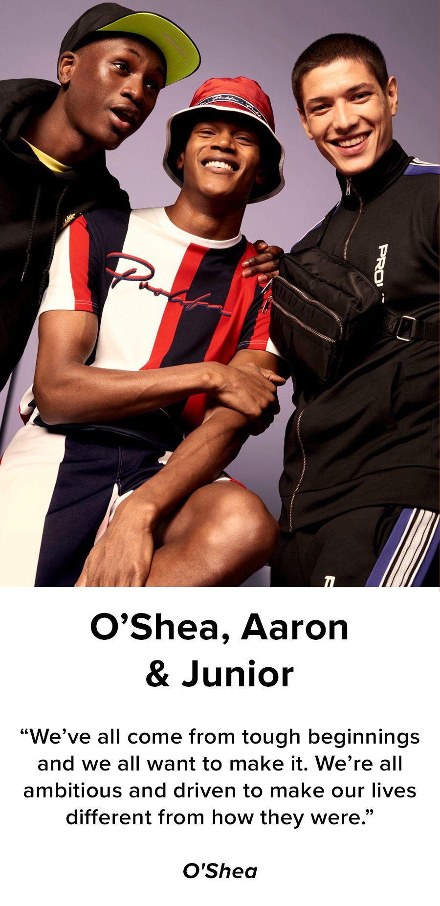 O'Shea, Aaron & Junior
