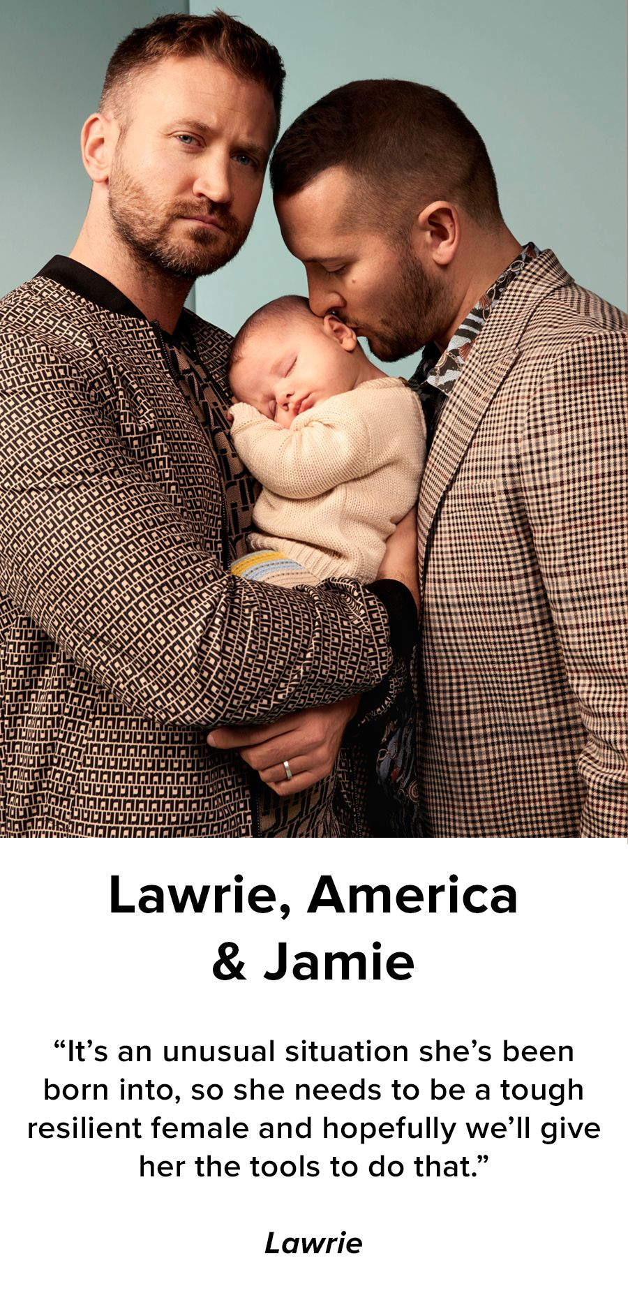 Lawrie, America & Jamie