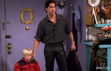 Ross Geller: The Unexpected Style Icon