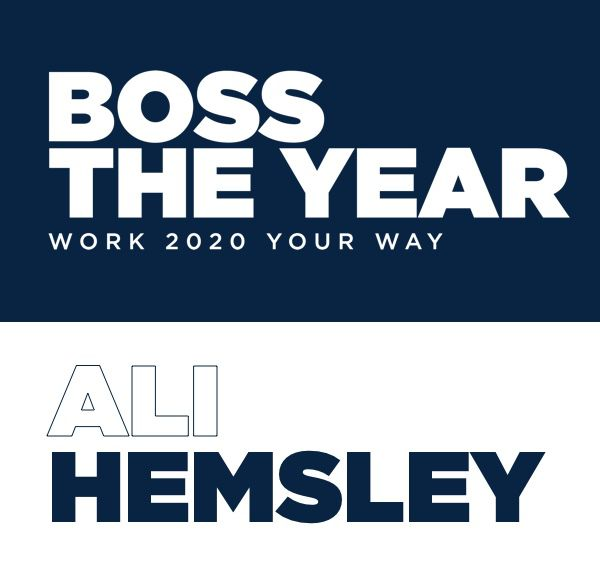 boss the year Ali Hemsley