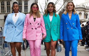 The Fash pack a LFW