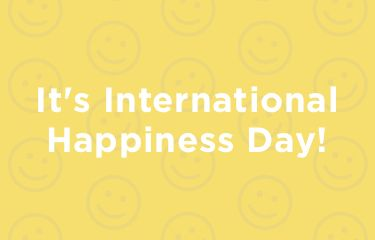 It's International Happiness Day!
