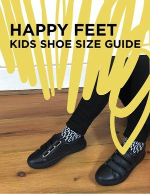 Happy Feet: Kids Shoe Size Guide