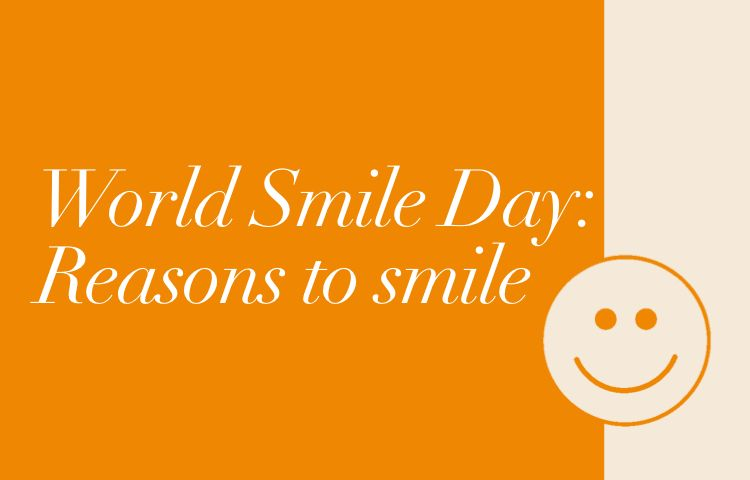 World Smile Day | Reasons to smile